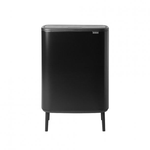 Brabantia Touch Bin High 2 x 30 Liter - Mat Sort