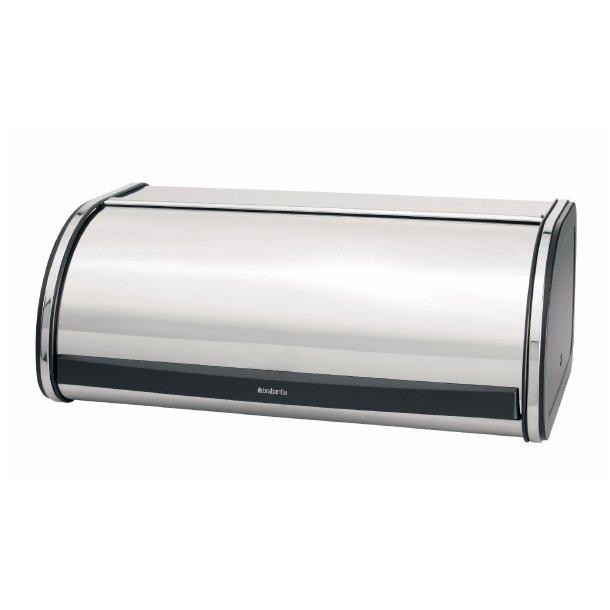 Smart Køb Brabantia Brødkasse Roll Top blank Stål - Størst udvalg FA62
