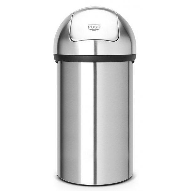 Brabantia Push Bin 60 Liter Børstet Stål - 484520