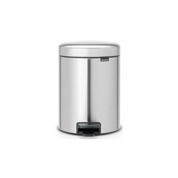 Brabantia Pedal bin newIcon 5 Liter Matt Steel Fingerprint Proof