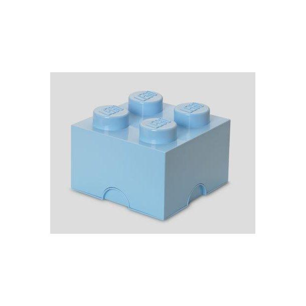 LEGO Opbevaringsklods 4 - Lyseblå