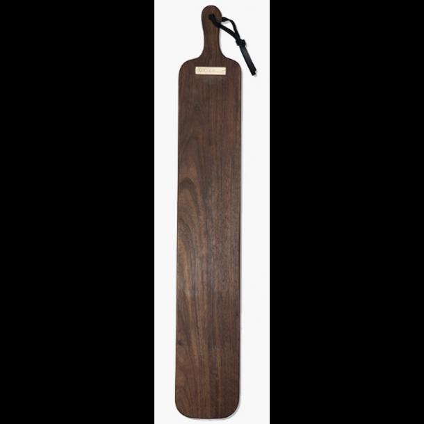 Dutchdeluxes Skærebræt XL Stripe Solid Olied valnød 12 x 70 cm