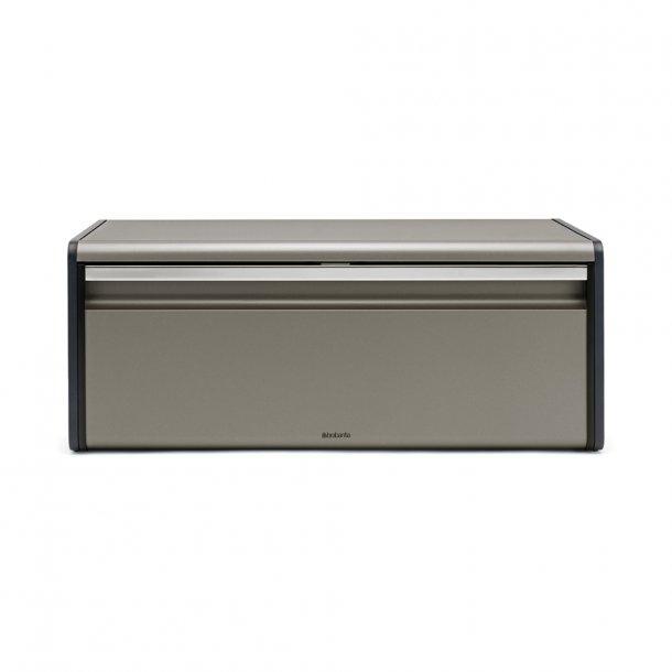 Brabantia Breadbox Fall Front Platinum