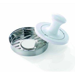 GEFU Spark Bøfformer stål/porcelæn Ø12cm
