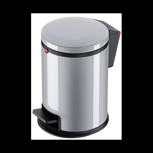 Hailo Affaldsspand Pure S 3 Liter - sølv