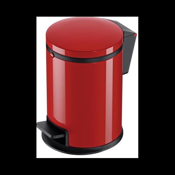 Hailo Affaldsspand Pure M 12 Liter rød