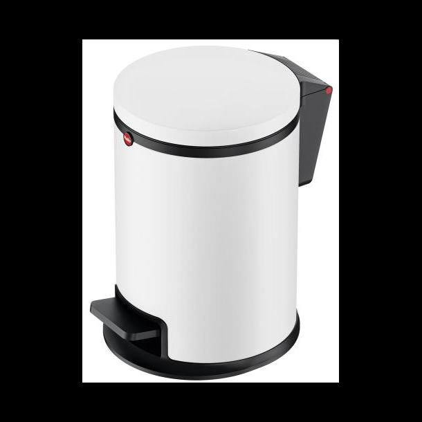 Hailo Affaldsspand Pure S 3 Liter - mat hvid