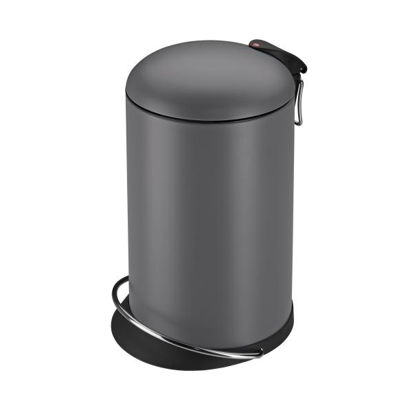 Hailo Affaldsspand TOPdesign M, mat grå - 13 Liter