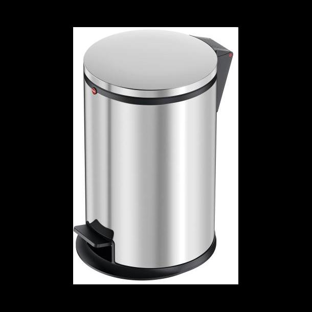 Hailo Affaldsspand Pure M 12 Liter rustfrit stål