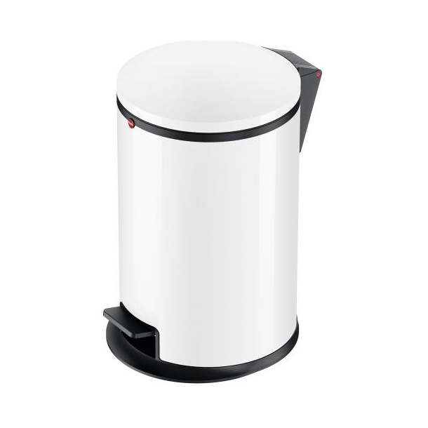 Hailo Affaldsspand Pure M 12 Liter hvid