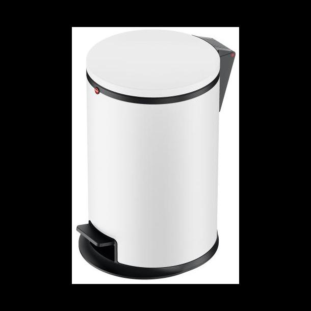 Hailo Affaldsspand Pure M 12 Liter mat hvid