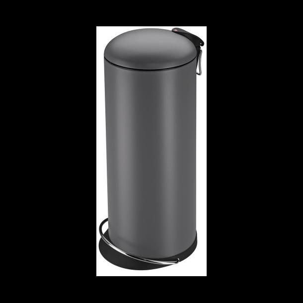 Hailo Affaldsspand TOPdesign L, mat grå - 24 Liter