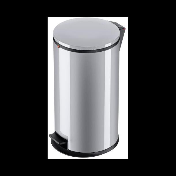Hailo Affaldsspand Pure L silver - 25 Liter