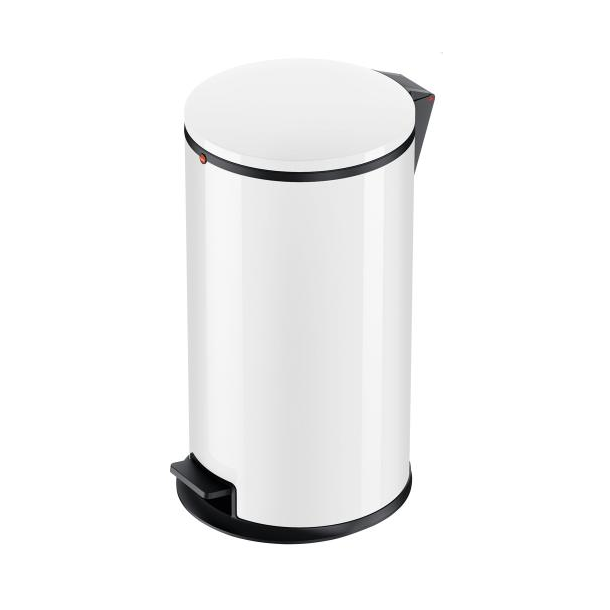 Hailo Affaldsspand Pure L hvid - 25 Liter