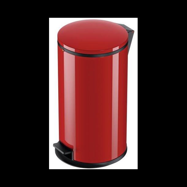 Hailo Affaldsspand Pure L rød - 25 Liter