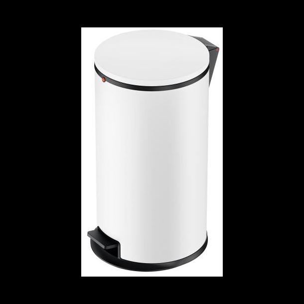 Hailo Affaldsspand Pure L mat hvid - 25 Liter