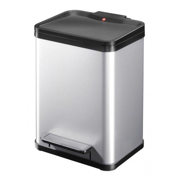 Hailo affaldsspand Öko uno Plus M, silver - 17 Liter