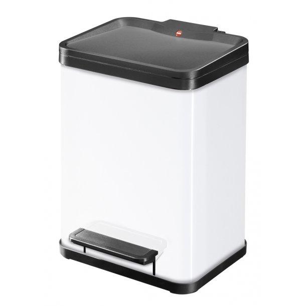 Hailo affaldsspand Öko uno Plus M, hvid - 17 Liter