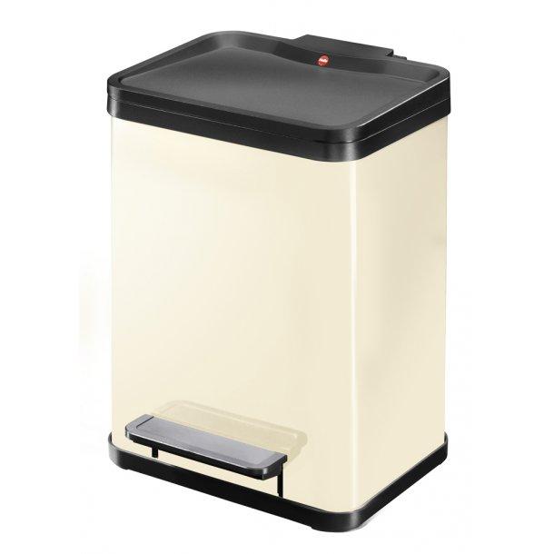Hailo affaldsspand Öko uno Plus M, vanilje - 17 Liter