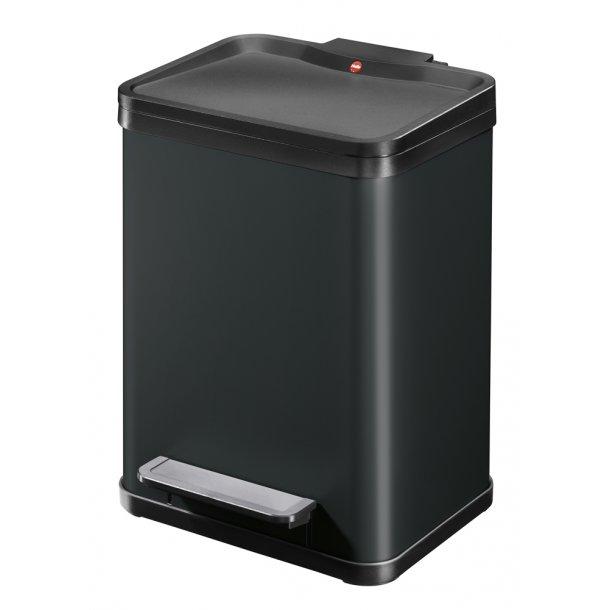 Hailo affaldsspand Öko uno Plus M, sort - 17 Liter