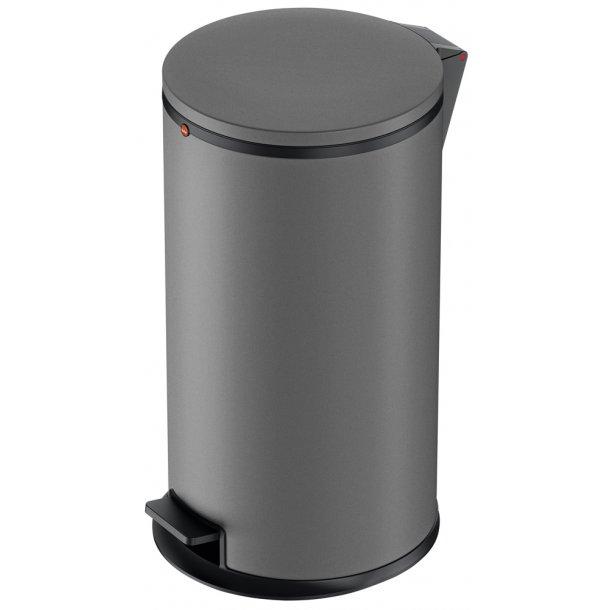 Hailo Affaldsspand Pure L mat grå - 25 Liter