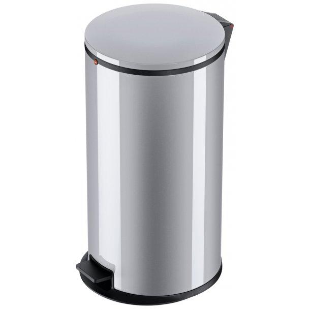 Hailo Affaldsspand Pure XL silver - 44 Liter