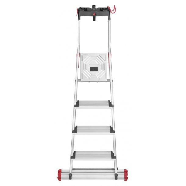 Hailo folding ladder XXL Garden & Home 4 XXL Alu Trin