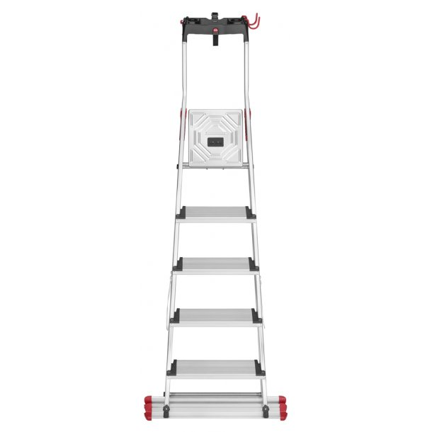 Hailo folding ladder XXL Garden & Home 5 XXL Alu Trin