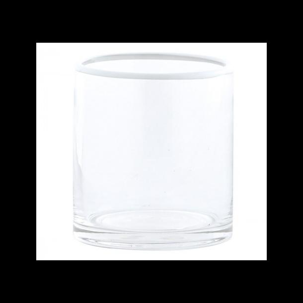 House Doctor Glas, Rim, Dia.: 8 cm h.: 9 cm