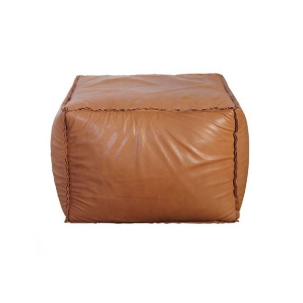 House Doctor Puf - Soft Brick SMALL