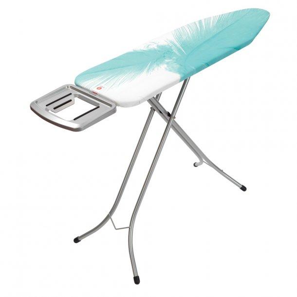 Brabantia Ironing Board 124 x 38 m / holder Feathers