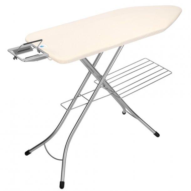 Brabantia Ironing board 124 x 45 m / hanger Ecru