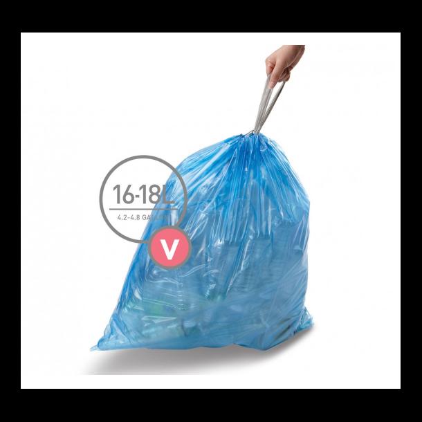 Simpelhuman Affaldsposer 16-18 Liter - Kode V