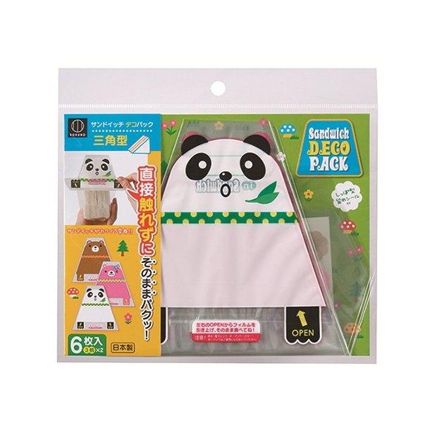 Kokubo Sandwich Wrap Panda- Trekant