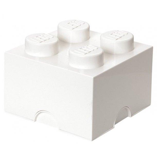 LEGO Opbevaringsklods 4 - Hvid