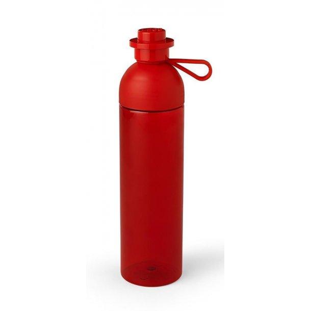 Lego Hydration Drikkeflaske 0,74 Liter - Transparent Rød