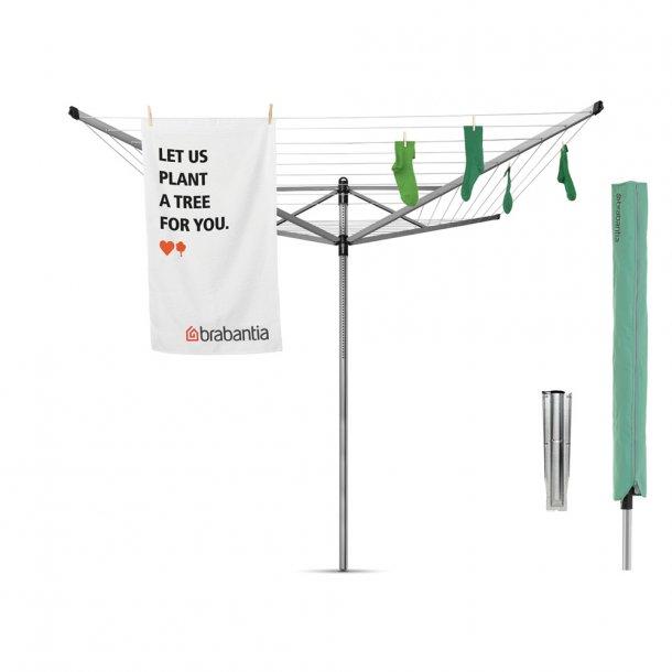 Brabantia Tørrestativ Lift-O-Matic 50 mtr. Metallic Grey