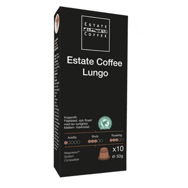 Estate Kaffekapsler 18 stk - Lungo