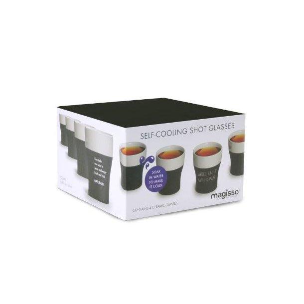 Magisso Cooling Keramik Shotglas - 4 x 50 ml