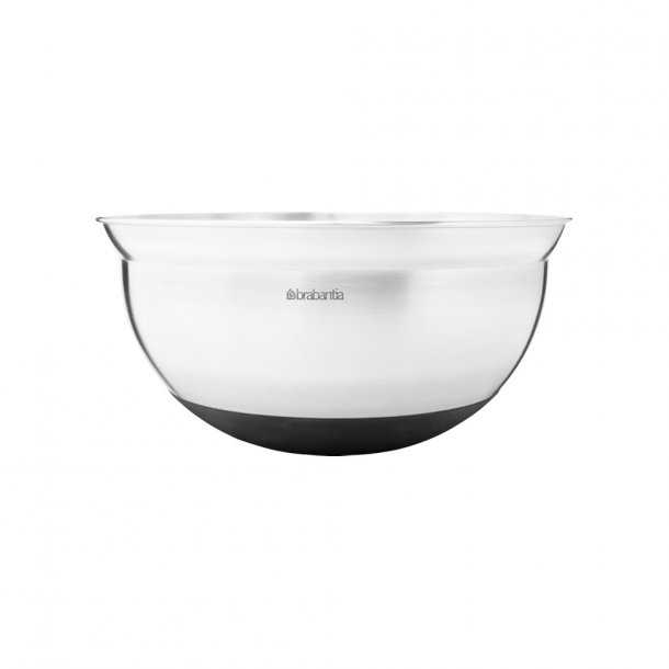 Brabantia Pipe bowl 3 ltr. Matt Steel / Black