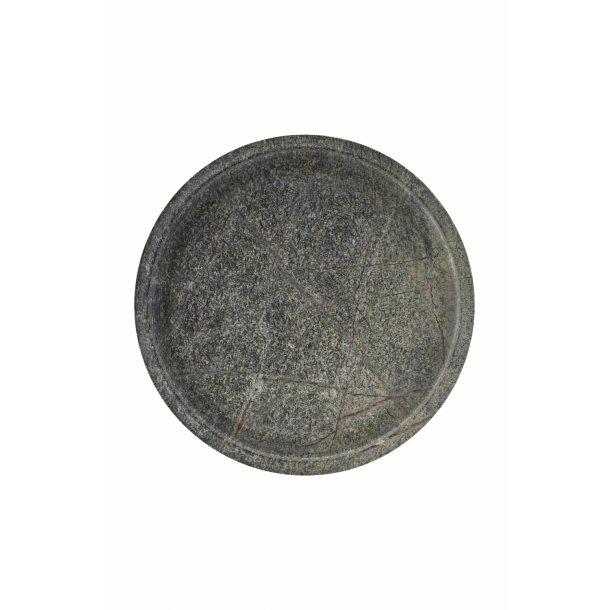 House Doctor Marmor Dish, Green d: 30cm h: 4cm
