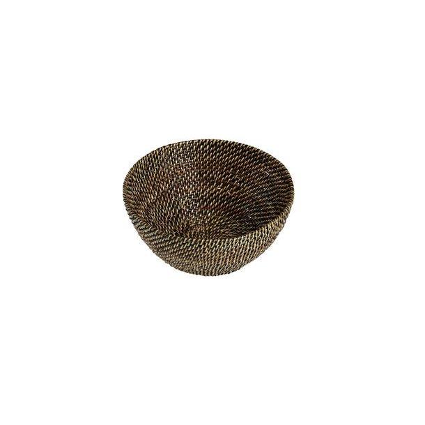 Pillivuyt Brødkurv Rund - Brun Ø20,5-21,5 cm