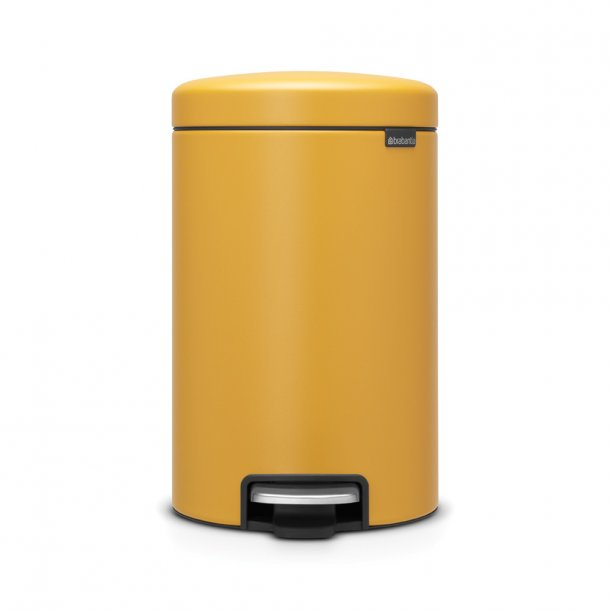 Brabantia Pedalspand NewIcon 12 ltr. Mineral Mustard Yellow