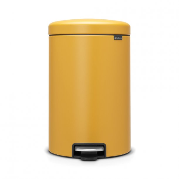 Brabantia Pedalspand NewIcon 20 ltr. Mineral Mustard Yellow
