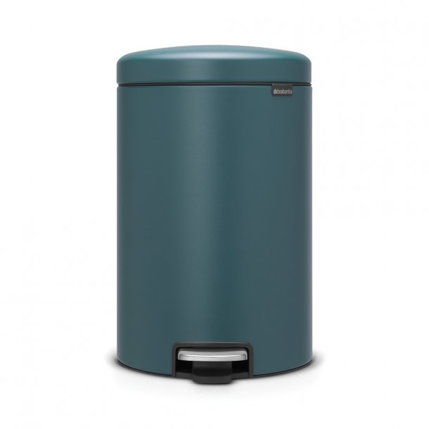 Brabantia Pedalspand NewIcon 20 ltr. Mineral Reflective Blue