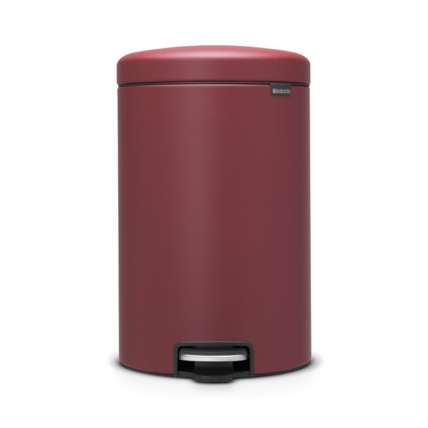 Brabantia Pedalspand Newicon 20 Liter Mineral Windsor Red