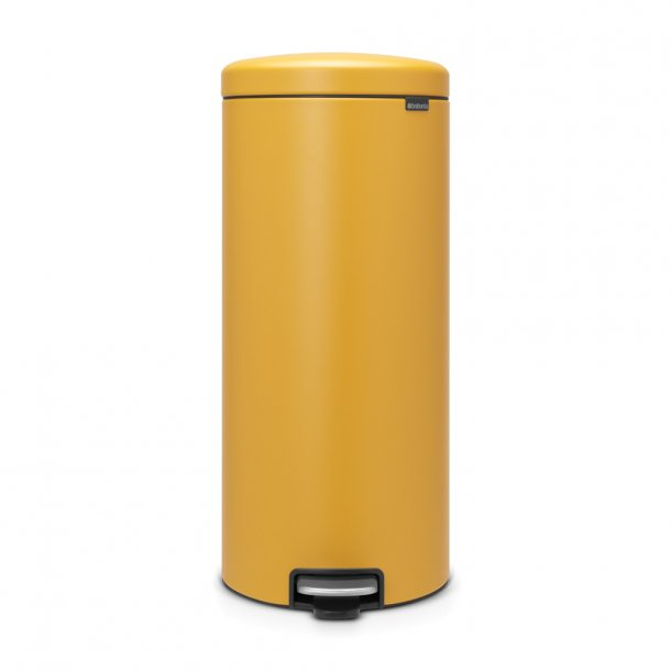 Brabantia Pedalspand Newicon 30 Liter Mineral Mustard Yellow