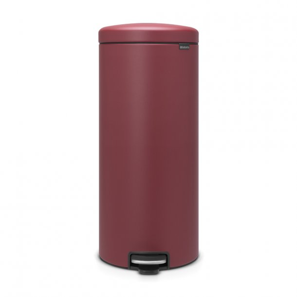 Brabantia Pedalspand Newicon 30 Liter Mineral Windsor Red