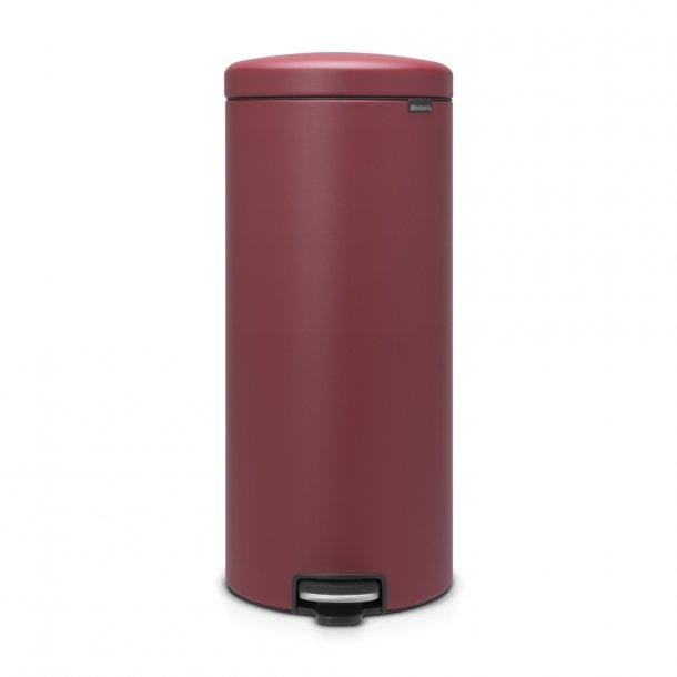 Brabantia Pedal bin NewIcon 30 ltr. Mineral Windsor Red