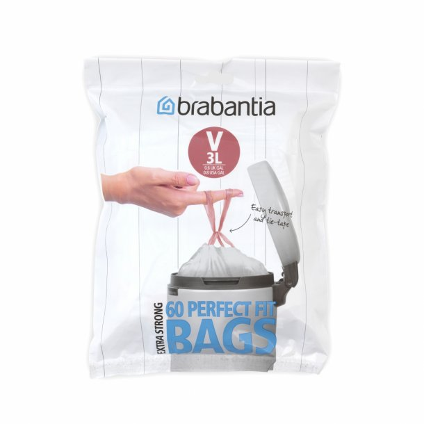Brabantia Waste Bag V 3 ltr. [60 pcs] dispenser